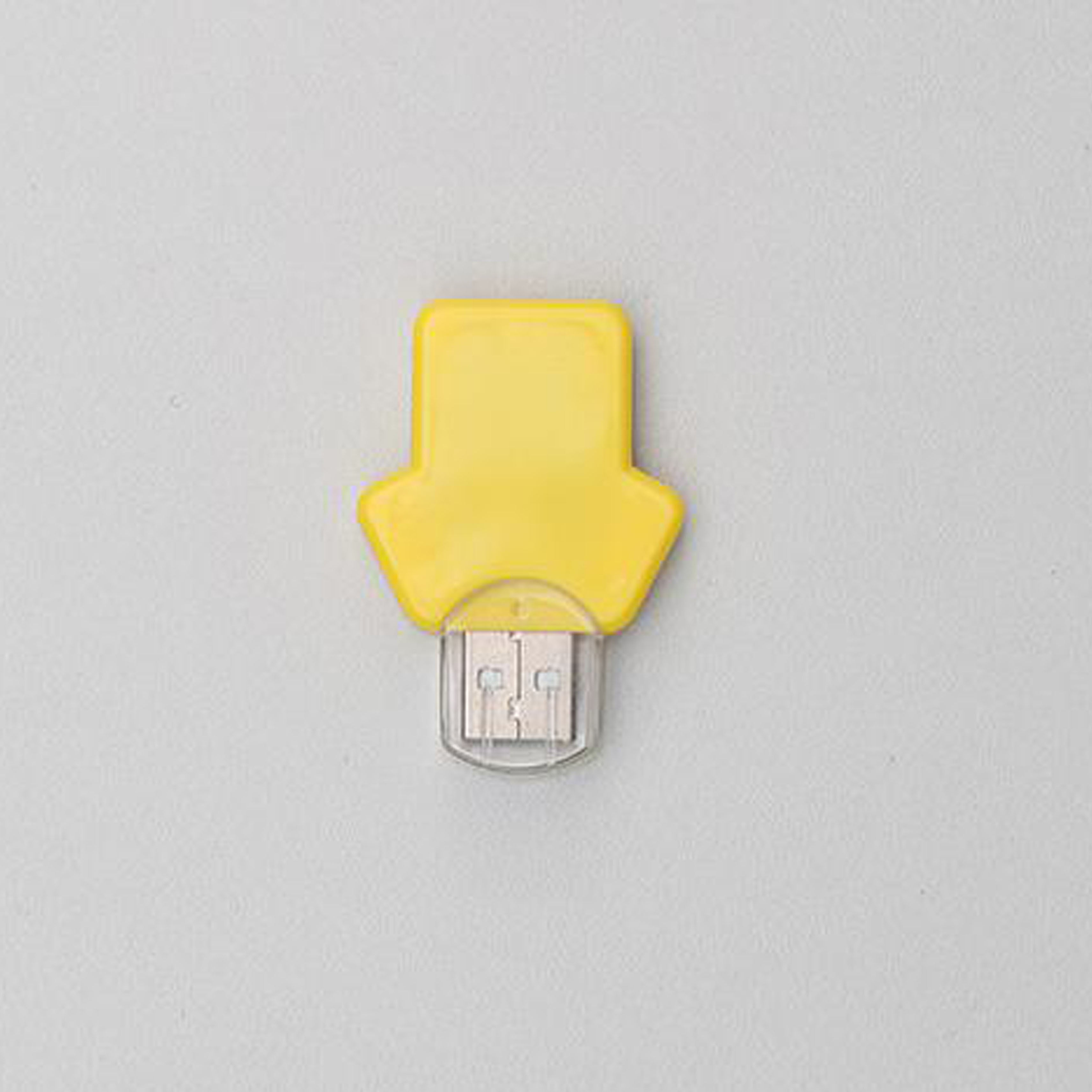 Yellow Cloth Shape USB flash drive